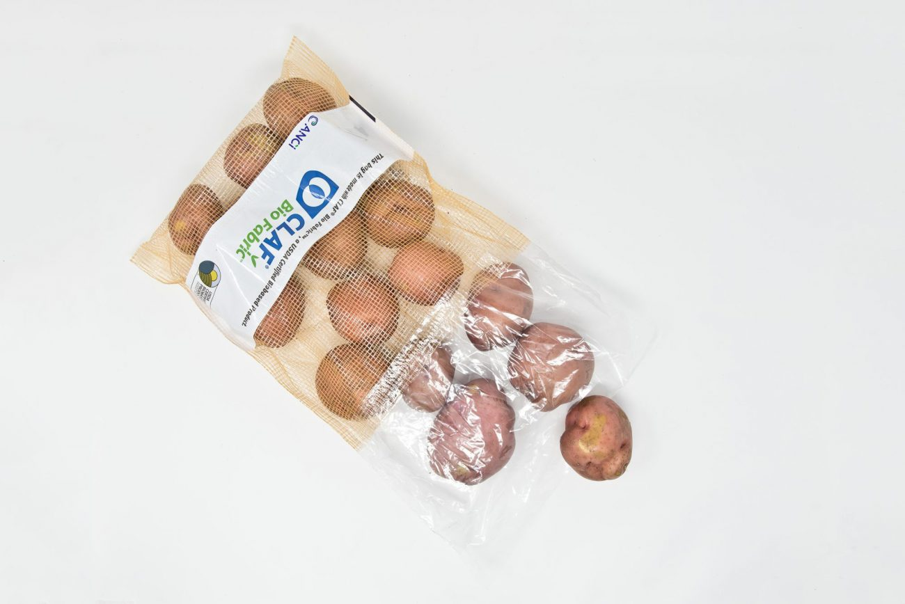 How to Stand Out in the Produce Section With Packaging CLAF bag with potatoes